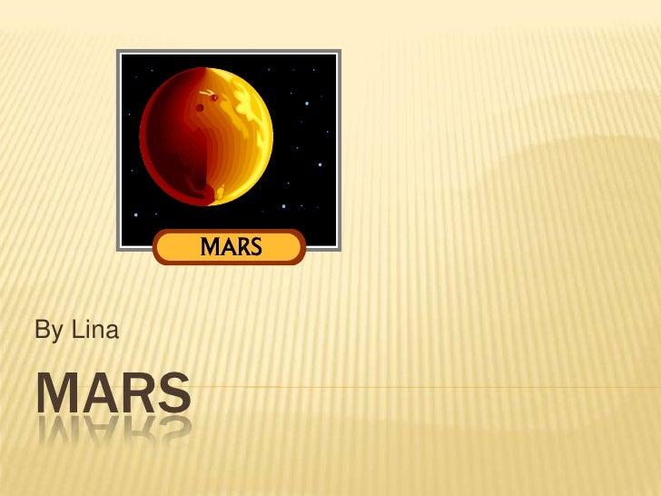 Mars By Lina