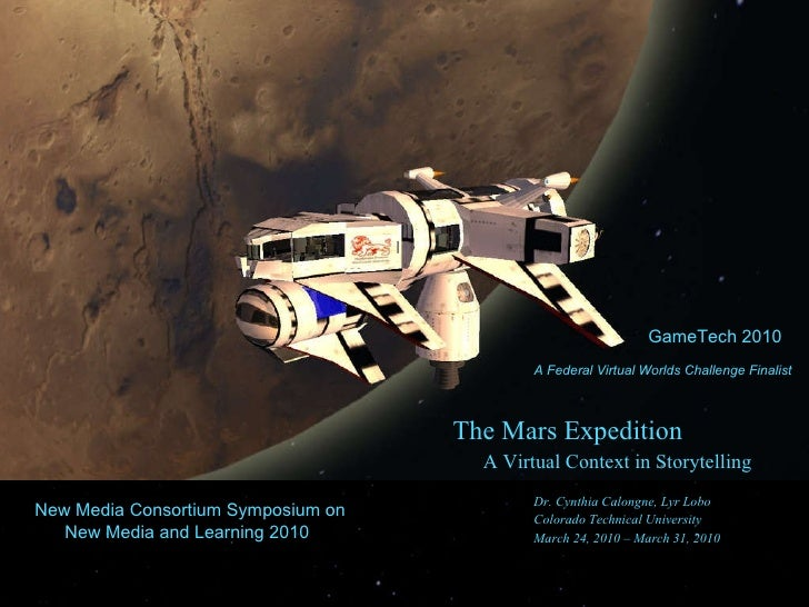 Mars Expedition Game Tech 2010