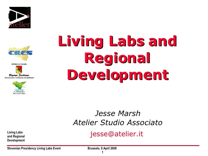 Living Labs and Regional Development