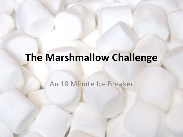 how to win the marshmallow challenge