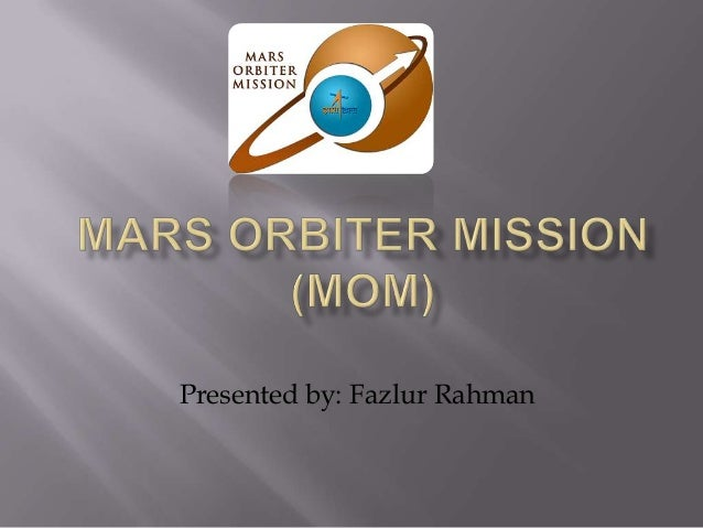 Presented by: Fazlur Rahman
