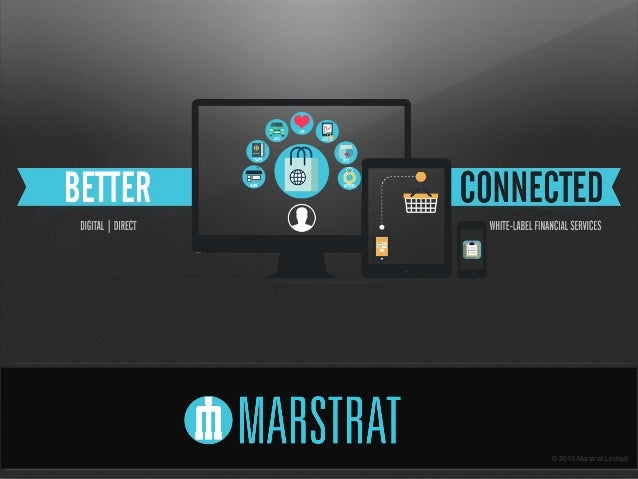 Marstrat - white-label financial services for blue chip Brands