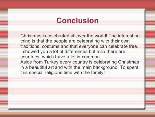 christmas around the world essay