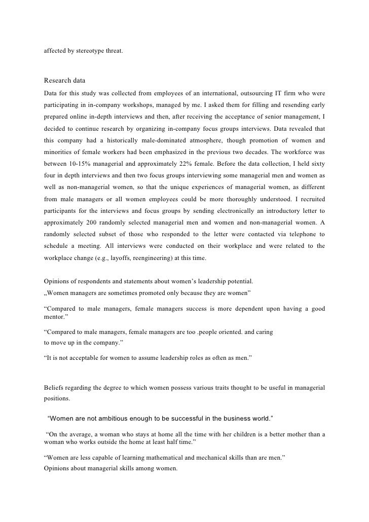 affirmative action term paper