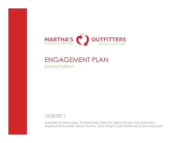 Marthas Outfitters Digital Engagement Plan