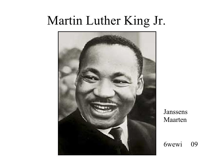 Martin Luther King Jr. Janssens Maarten 6wewi  09