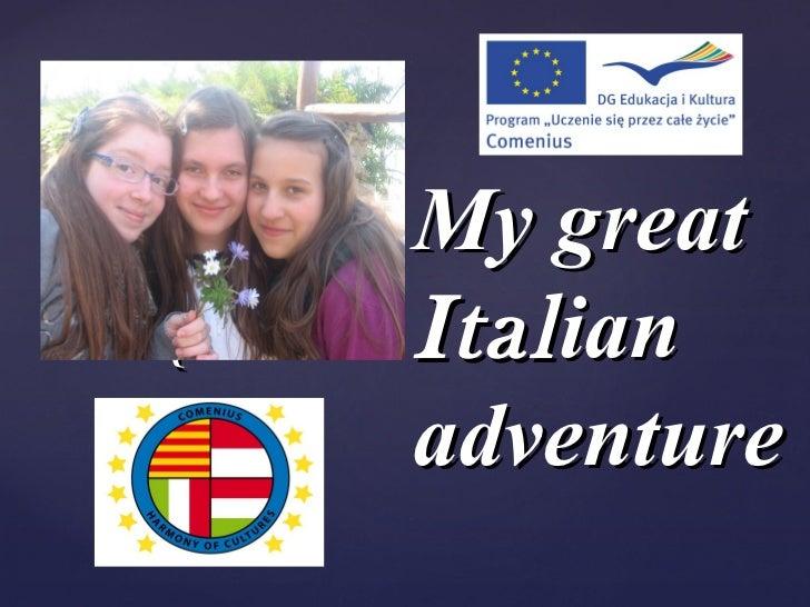 Martina italian adventure