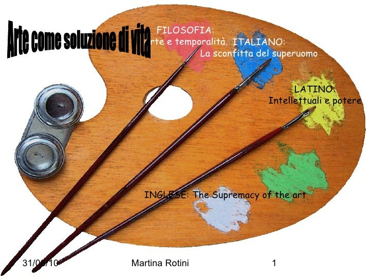 <ul>FILOSOFIA: Arte e temporalità. </ul><ul>ITALIANO: La sconfitta del superuomo </ul><ul>LATINO: Intellettuali e potere <...
