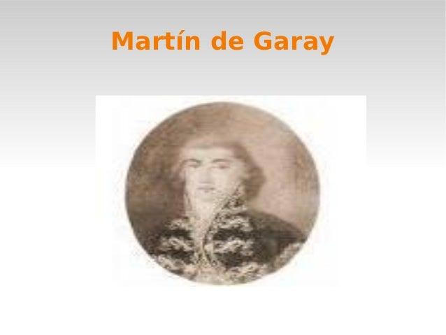 Martin de garay