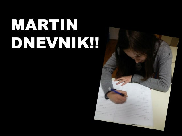 Martin dnevnik