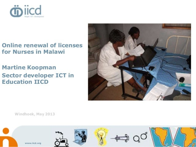 Martine koopman iicd online renewal of licenses for nurses