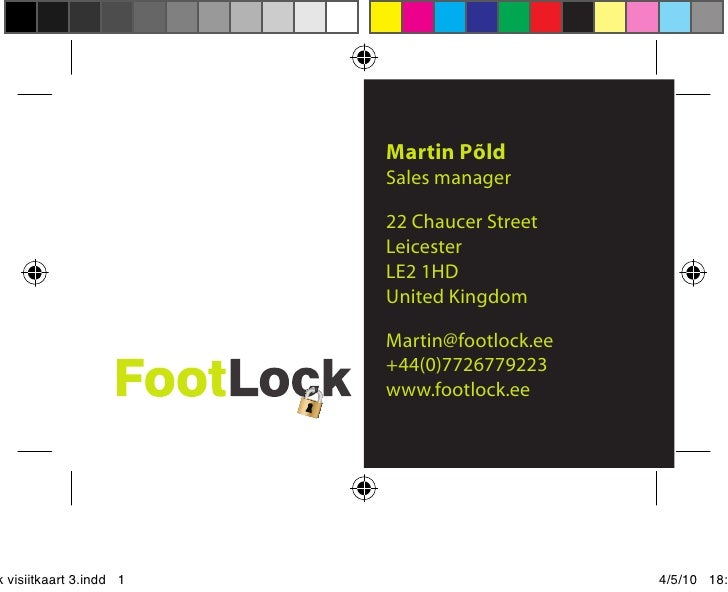 Martin Põld                          Sales manager                           22 Chaucer Street                          Le...