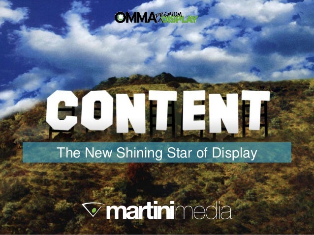 Martini media omma premium display