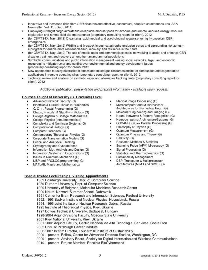 Martin pitt phd resume