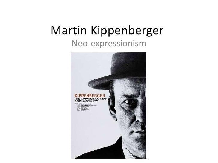 Martin Kippenberger<br />Neo-expressionism<br />
