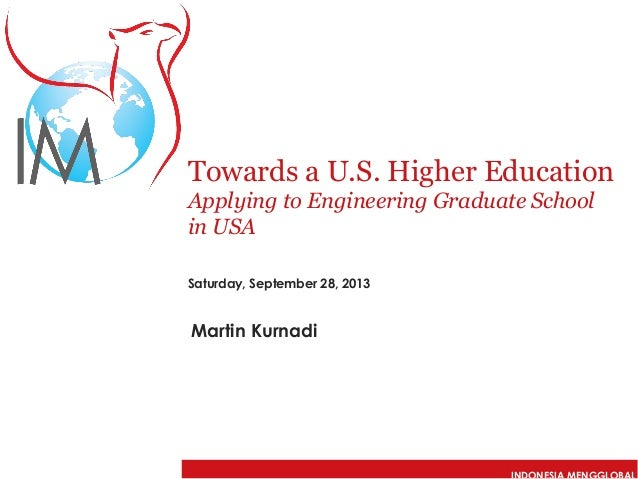 Applying to Engineering Graduate School in the USA