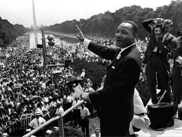 Martin Luther King's 'I Have A Dream' speech and the March on Washington