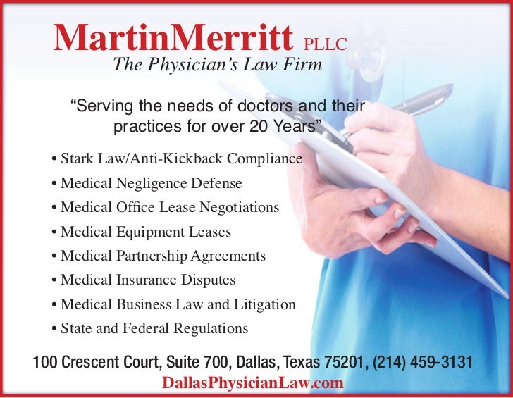 """MartinMerritt pllc           The Physician's Law Firm     """"Serving the needs of doctors and their           practices for ..."""