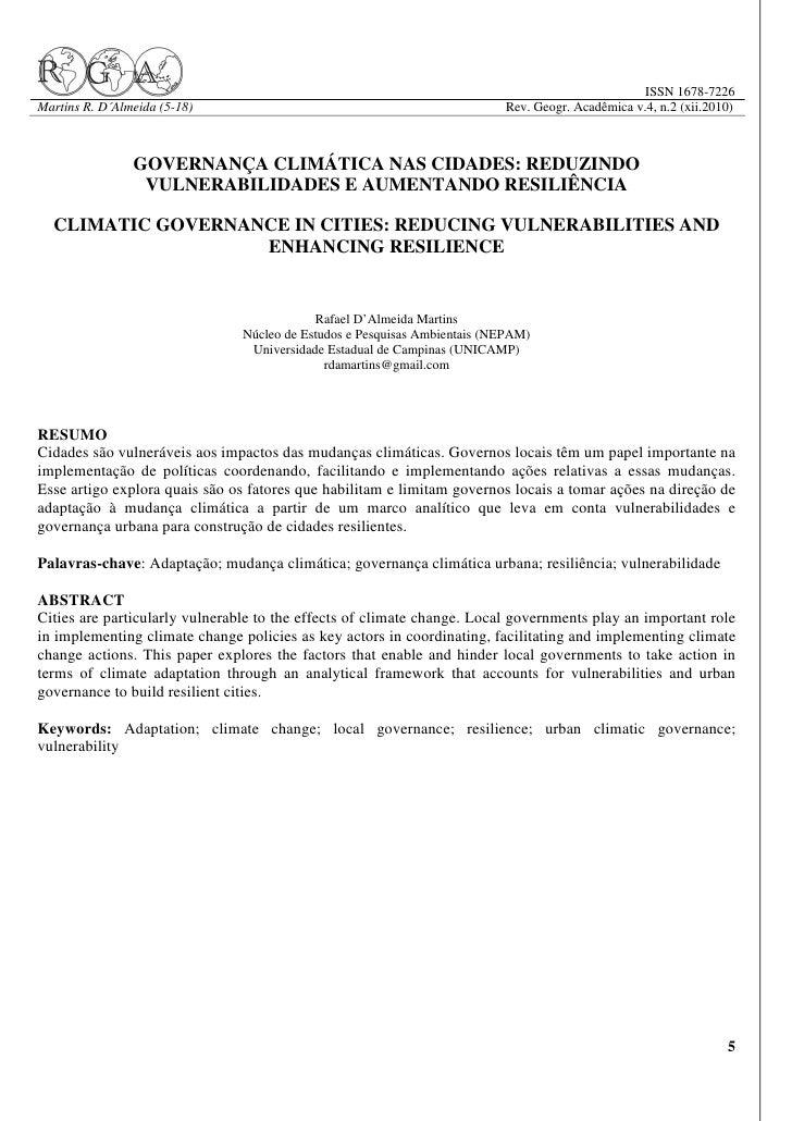 ISSN 1678-7226Martins R. D´Almeida (5-18)                                                Rev. Geogr. Acadêmica v.4, n.2 (x...