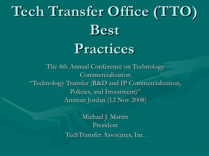 Martin Tto Best Practices Ver3