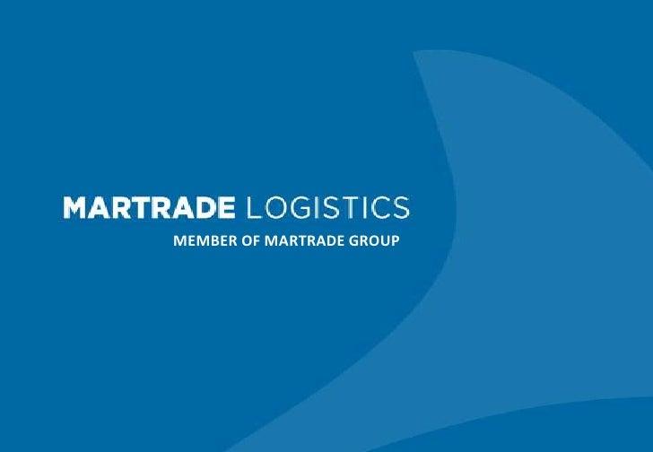 Martrade Logistics Belgium NV