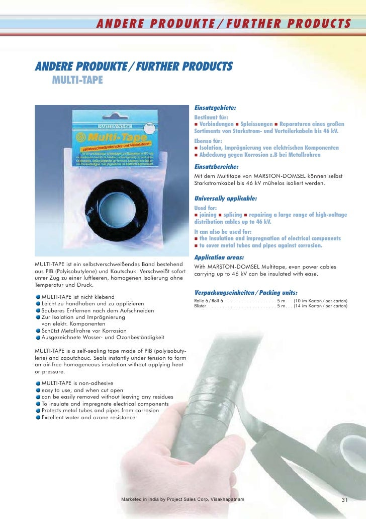ANDERE PRODUKTE / FURTHER PRODUCTS   ANDERE PRODUKTE / FURTHER PRODUCTS       MULTI-TAPE                                  ...