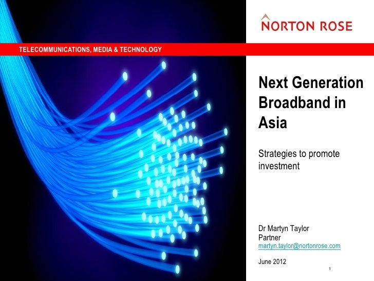 TELECOMMUNICATIONS, MEDIA & TECHNOLOGY                                         Next Generation                            ...