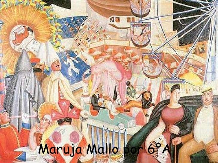 Maruja Mallo por 6ºA