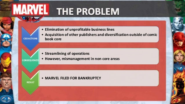 case study for marvel Bankruptcy and restructuring at marvel entertainment group case solution, marvel entertainment group is the leading comic  related harvard case study analysis .