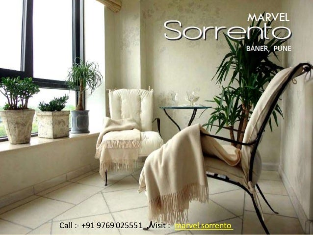 MARVEL Sorrento Baner, Pune Developed by Marvel Realtors Call :- +91 9769 025551 , Visit :- marvel sorrento