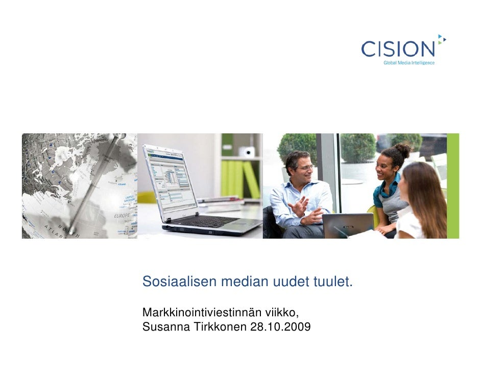 Sosiaalisen median uudet tuulet.  Markkinointiviestinnän viikko, Susanna Tirkkonen 28.10.2009