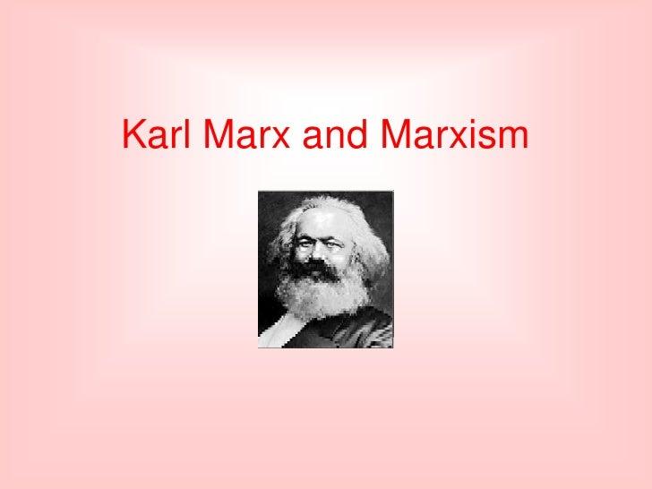 Marx ideology - lesson 17