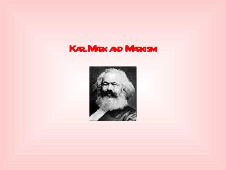 Marx intro