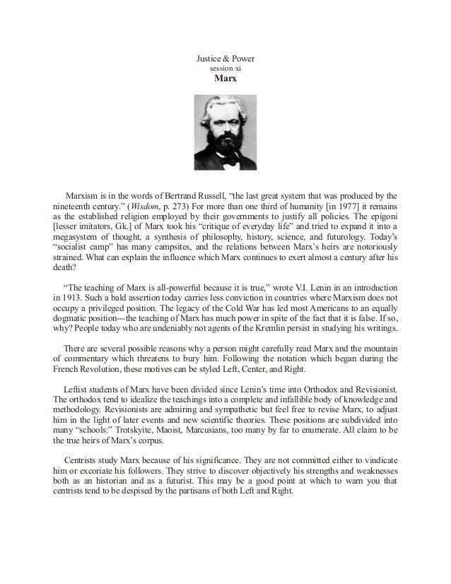 Marx Introduction