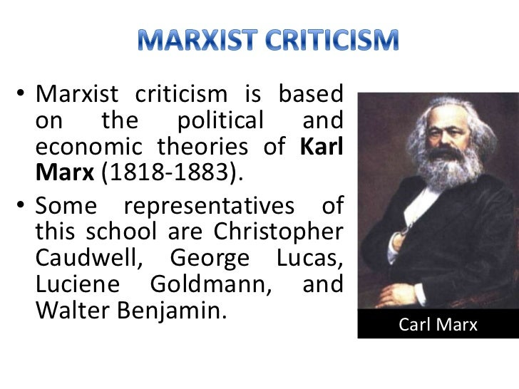 marxist criticism Explains the basics of marxist criticism all information taken from donald hall's literary and cultural theory.