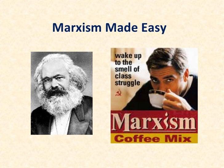 Marxism made easy