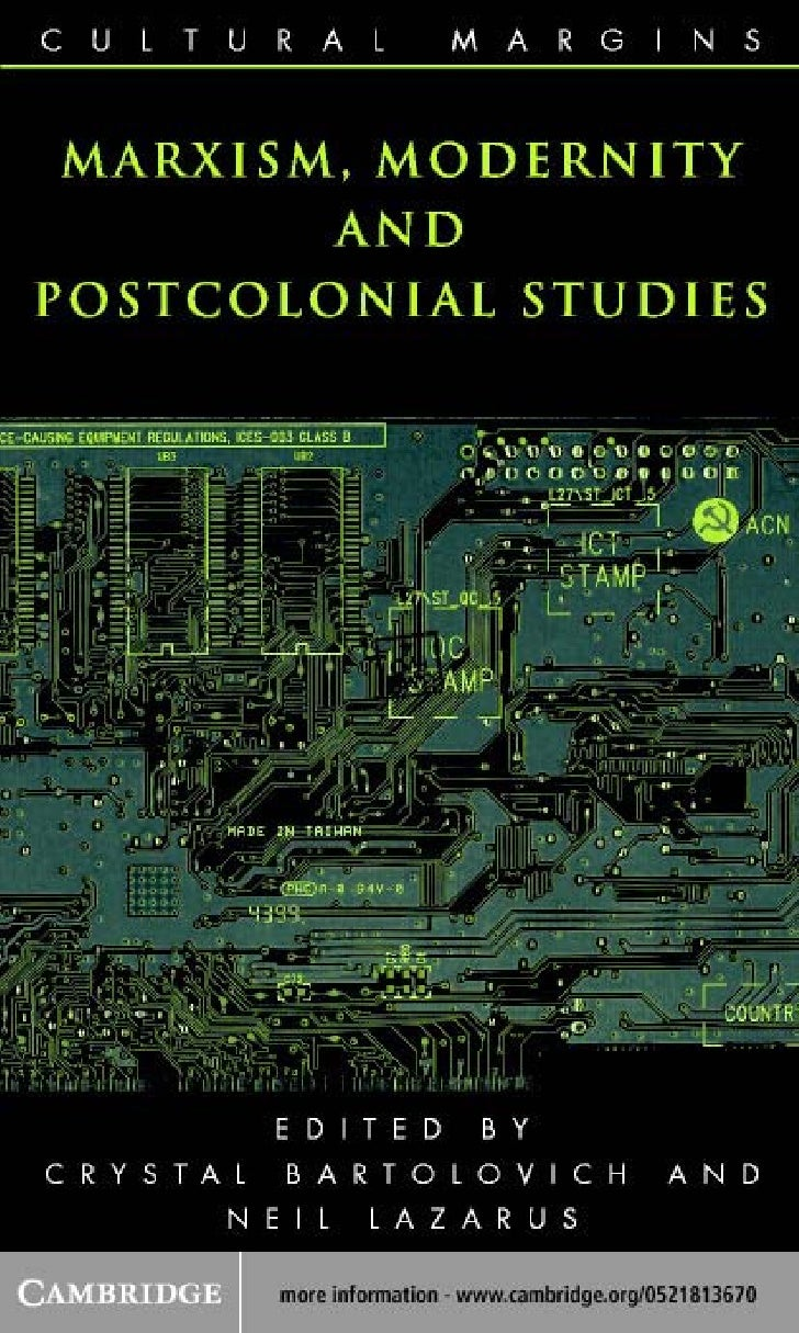 Marxism  modernity_and_postcolonial_studies__cultural_margins_