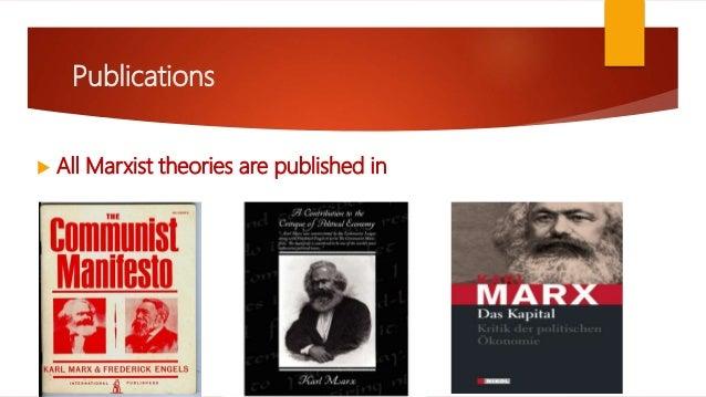 Analyzing Marxist Theory