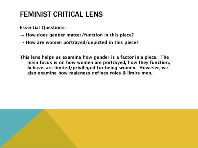critical lens on hamlet