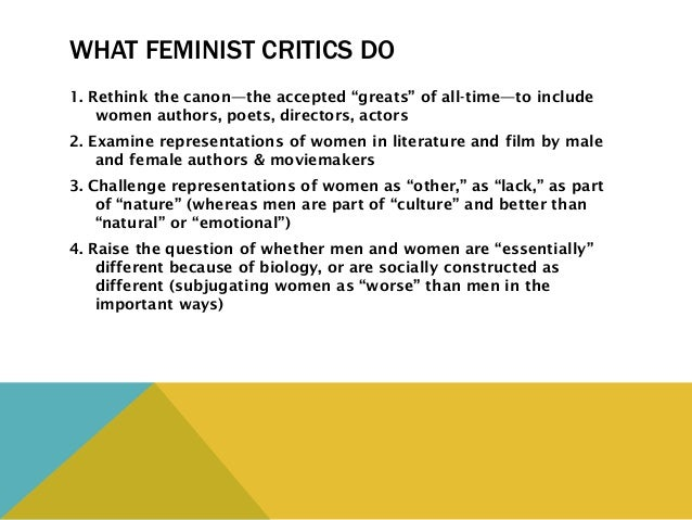a look at the criticism of the feminist theory The feminist perspective has much in common with the conflict perspective and throughout this course, we will typically discuss feminist theory alongside conflict theory, although many consider it deserving of its own classification.