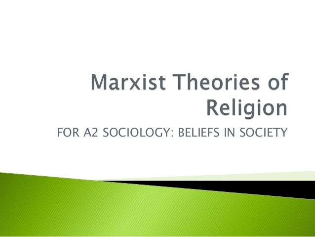 Marxist sociology