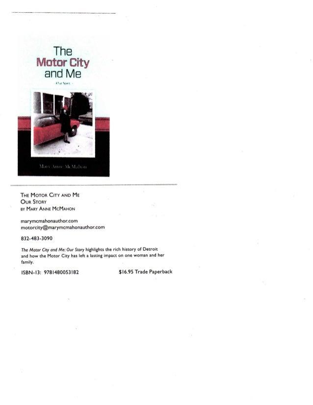 Mary anne mc mahon's card