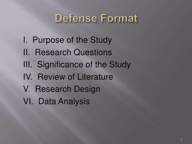Literature Review Dissertation Proposal