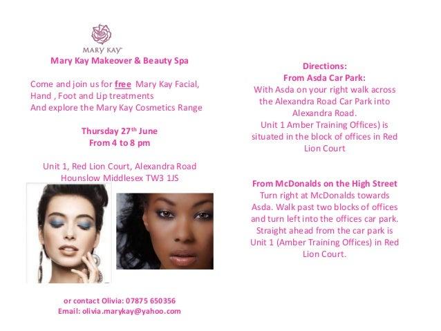 Avon party invitations templates