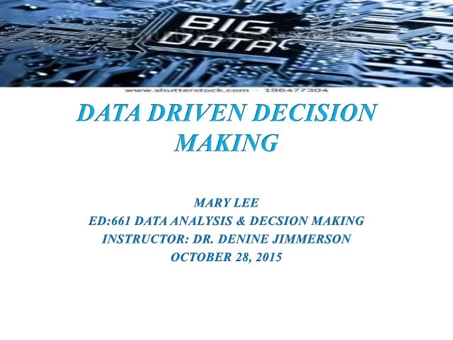 analytical decision making assignment 1 Ethical decision making and behavior as we practice resolving dilemmas we find ethics to be less a goal than a pathway, less a destination than a trip, less an inoculation analytical skills to evaluate options the fourth element is tolerating moral.