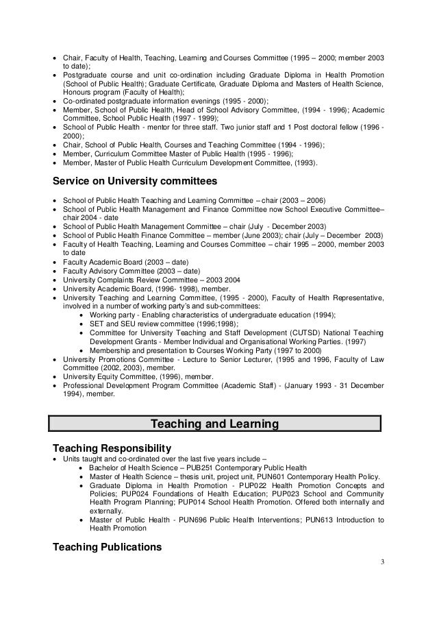 Resume phd physics