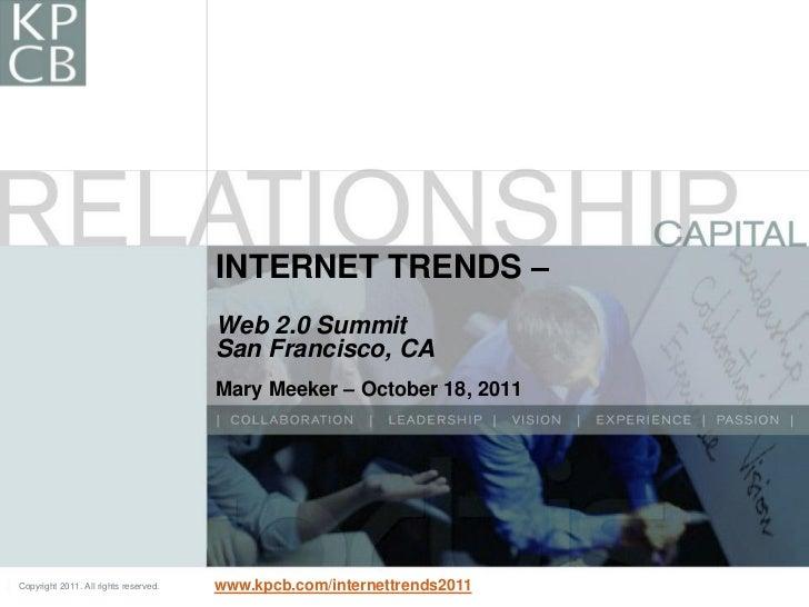 Mary Meeker's Web 2.0 Presentation October 18 2011