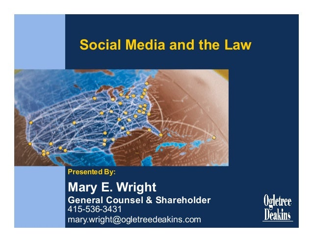 ERE Conference:  Social Media and the Law