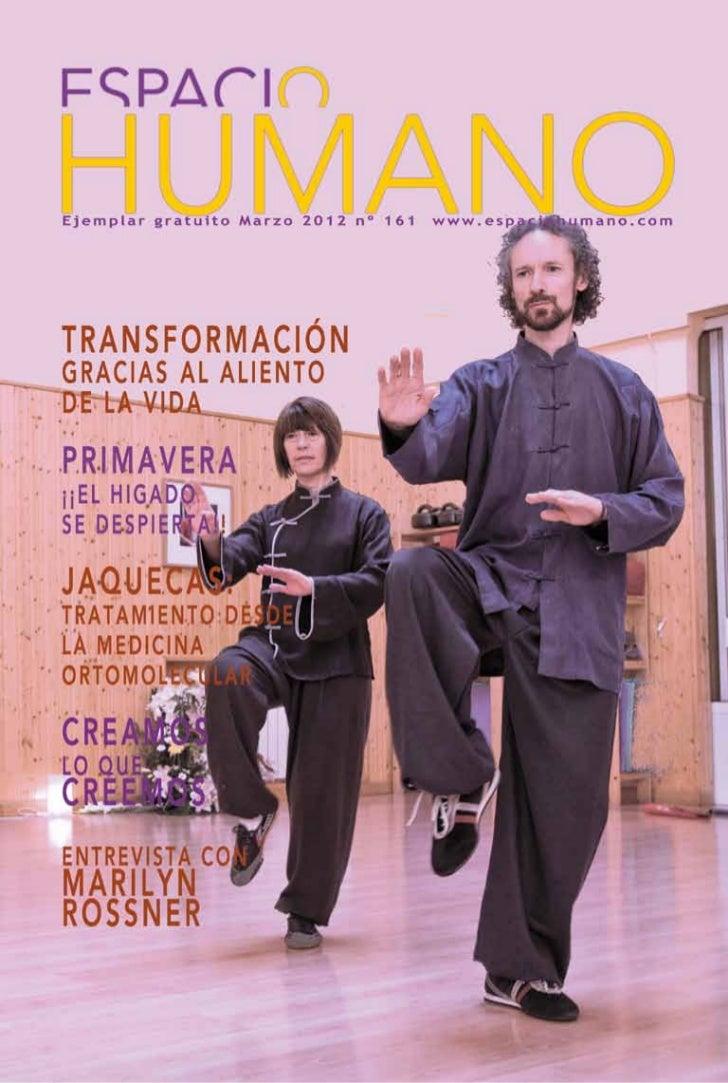 Revista Espacio Humano Marzo2012 n.161