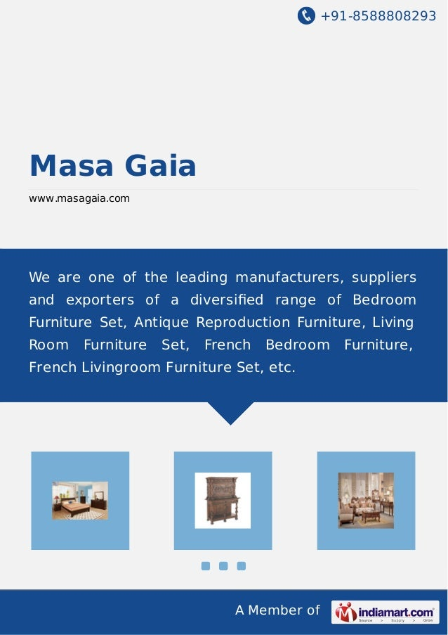 +91-8588808293  Masa Gaia www.masagaia.com  We are one of the leading manufacturers, suppliers and exporters of a diversifi...